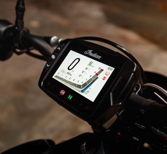 Ekran dotykowy Ride Command 4,3 in